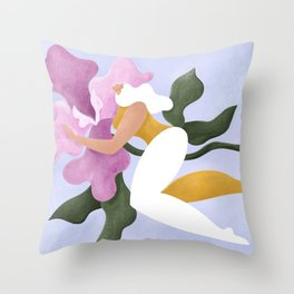 How to soar Throw Pillow