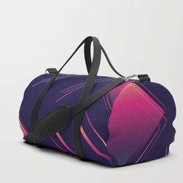 Future Portals Synthwave Aesthetic Duffle Bag