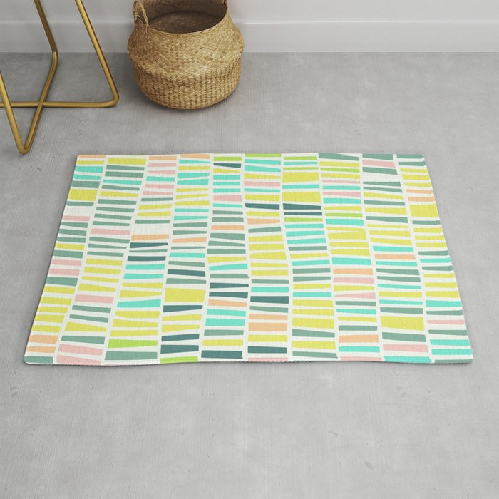 Terrazzo Pastel Overlay Rug By Deanng