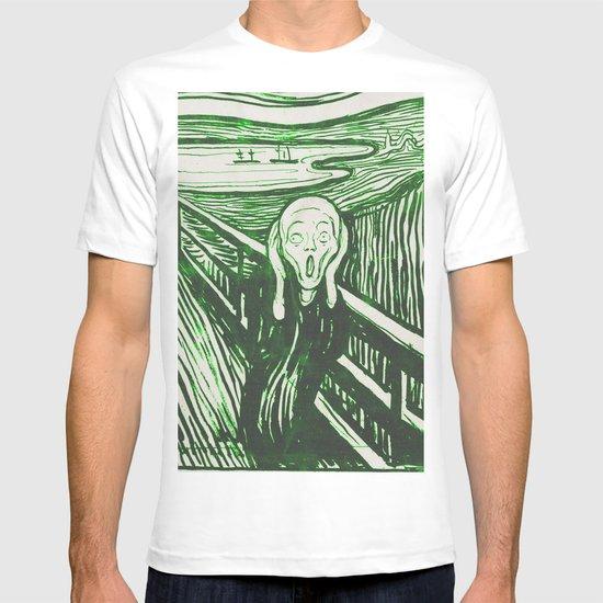 The Scream's Haze (green) T-shirt
