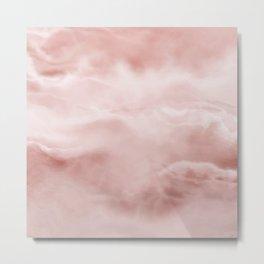 Pastel Painted Marble Metal Print