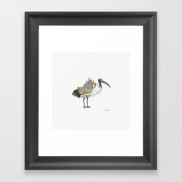 Bird City Framed Art Print