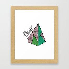 Piramid Framed Art Print