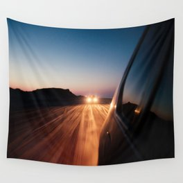 4x4 Sunset Drive Wall Tapestry