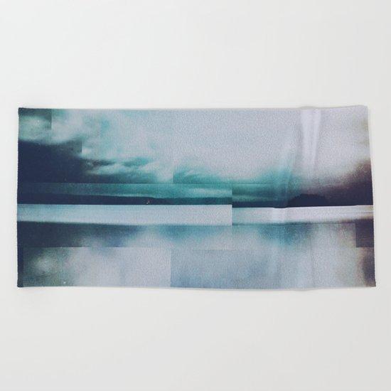Fractions A92 Beach Towel