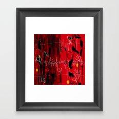 Love for love Framed Art Print