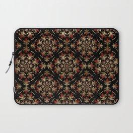 Turkish tulip - Ottoman tile pattern 15 Laptop Sleeve