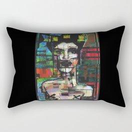 Grande gueule Rectangular Pillow