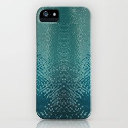 watery face iPhone Case