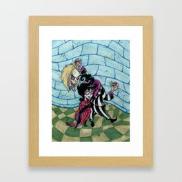 Lydia and the Bug Framed Art Print