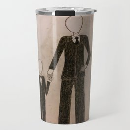 Slenderman & Child Travel Mug
