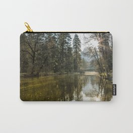 Sentinel Bridge and Half Dome in Morning Light Carry-All Pouch