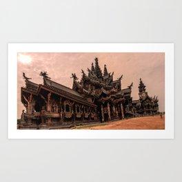 The Sanctuary of Truth Art Print