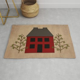 Primitive Country House Rug