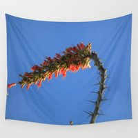 hook Wall Tapestries featuring Ocotillo Hook by Mae2Designs