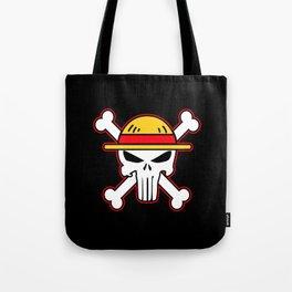 Straw Hat punisher Tote Bag