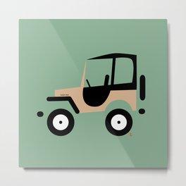 Just a Jeep Metal Print