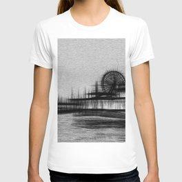 White Noise Santa Monica Pier T-shirt