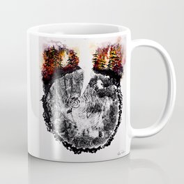 Over the River and Through the Woods Coffee Mug
