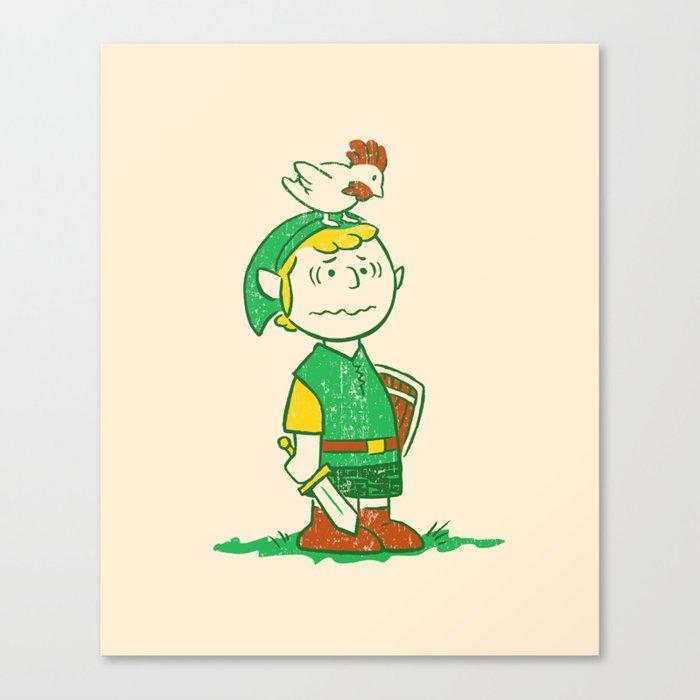 A Hero Named... Canvas Print