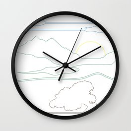 Landsacpe Wall Clock