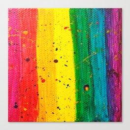 Rainbow Abstract #15 Canvas Print