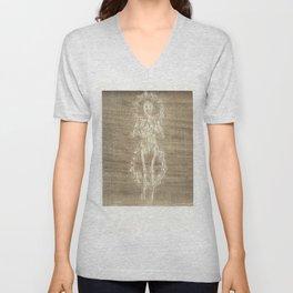 Skeleton Print - P1 Unisex V-Neck