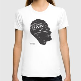 Shhhh! We're reading Ulysses! T-shirt