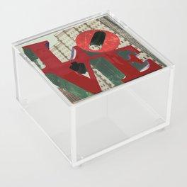 Love Sign Philadelphia Acrylic Box