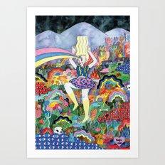 Esper Art Print