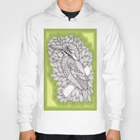 zentangle Hoodies featuring Zentangle Halcyon by Vermont Greetings