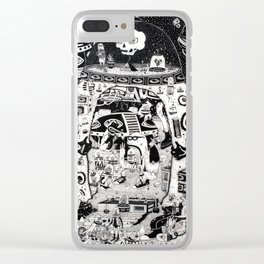 contacto real Clear iPhone Case
