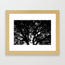 Abstract Silhouette Framed Art Print