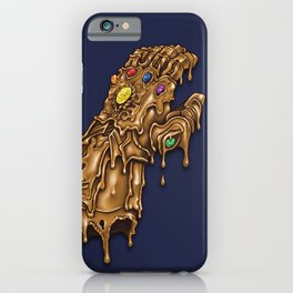 Melted Infinity Gauntlet iPhone Case