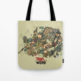 journey to the westside Tote Bag