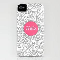 Hello iPhone (4, 4s) Slim Case