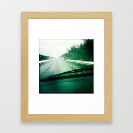 Drive Framed Art Print