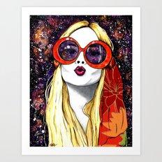 Goodnight Kiss Art Print