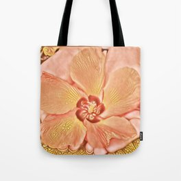 Flower in Hand Tote Bag