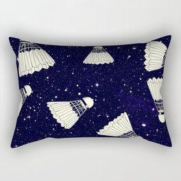 Space Shuttlecock Rectangular Pillow
