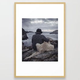 West Coast. Framed Art Print