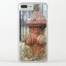 A Classic Life Saver in Rustic Charm Clear iPhone Case