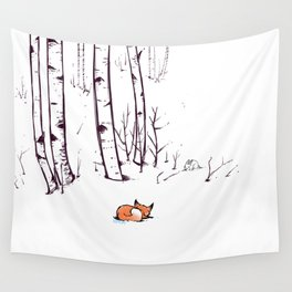 grow cold now Wall Tapestry