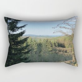 The Greens of the Pacific Northwest Rectangular Pillow