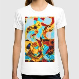 FRACTURED ABSTRACT T-shirt