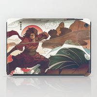 aang iPad Cases featuring Avatar State by Caleb Thomas