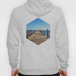 Ocean Walk - Geometric Photography Hoody