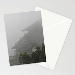 Foggy Temple Stationery Cards
