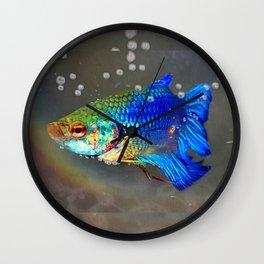 Betta Fish Wall Clock