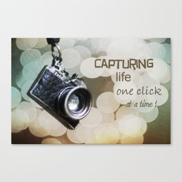 One Click Canvas Print